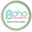 Boho blog badge