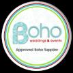 Boho blog badge