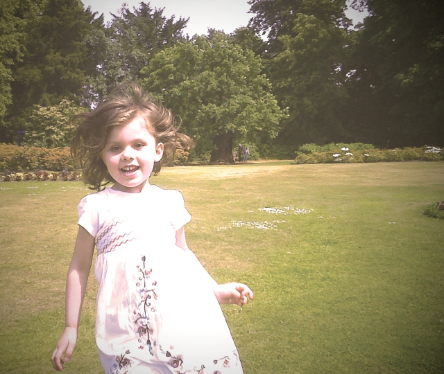 Amy at Hylands