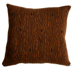 Wooly Wood Cushion