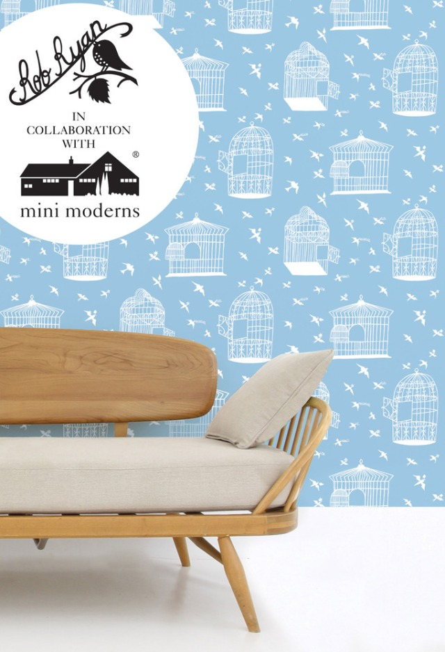Rob Ryan and Mini Moderns Sky Blue