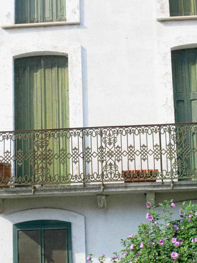french green shutters