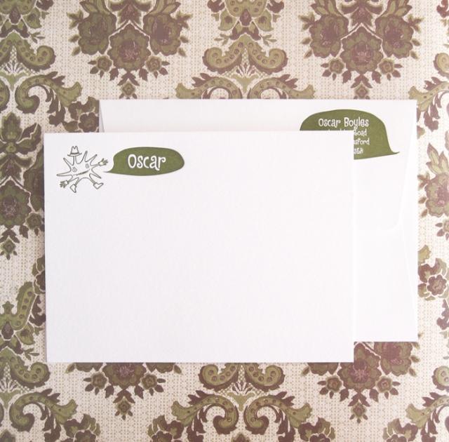 Mr. Splodge note cards