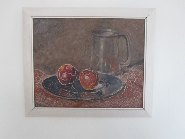 Vintage painting of fruit